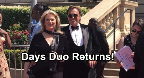 Days of Our Lives Spoilers: Thaao Penghlis and Leann Hunley Return For July Sweeps