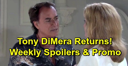 Days of Our Lives Spoilers: Week of March 11 – Tony DiMera Returns - Sneak Attacks, Shocking Betrayals and Devastating Blows