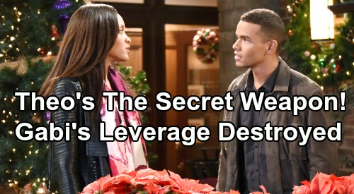 Days of Our Lives Spoilers: Theo Is Lani and JJ's Secret Weapon – Gabi's Leverage Destroyed - Will Kyler Pettis Return?