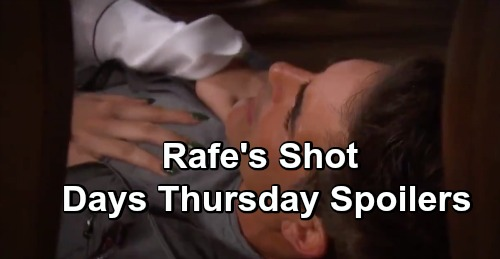 Days of Our Lives Spoilers: Thursday, April 18 – Rafe Gets Shot During Gabi & Ciara Hostage Crisis – Lani Takes David's Side