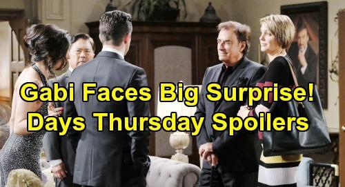 Days of Our Lives Spoilers: Thursday, August 1 – Gabi's Big Surprise - Eric Attacks Brady – Sarah's Love Blunder Stuns Rex