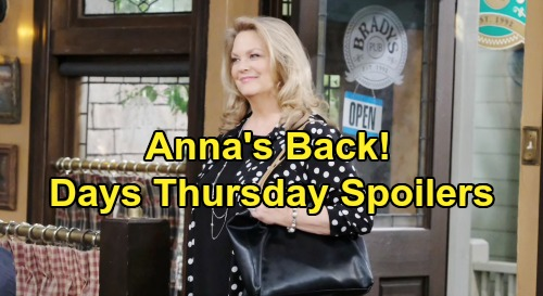 Days of Our Lives Spoilers: Thursday, August 8 – Anna Returns to Salem – Gabi Rushes to Stefan's Defense – Torn Kristen's Decision