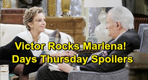 Days of Our Lives Spoilers: Thursday, February 28 – Gabi's Move Enrages Stefan – Victor's Bomb Rocks Marlena