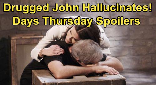 Days of Our Lives Spoilers: Thursday, February 6 – Ciara Onto Jordan's Killer - John Hallucinates – Rafe and Roman's Prague Hunt