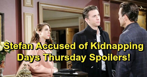 Days of Our Lives Spoilers: Thursday, February 7 – Chad Accuses Stefan – Chloe's Big Decision - Eric's Heartbreak