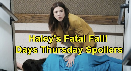 Days of Our Lives Spoilers: Thursday, January 23 – Baby Swap Heartbreak, Kristen's Wild Outburst – Haley's Fatal Staircase Tumble