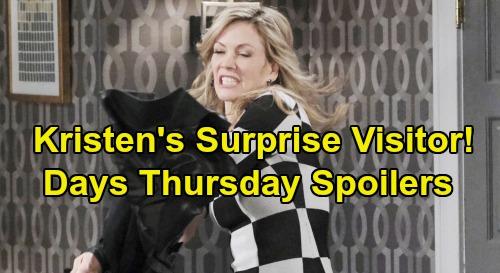Days of Our Lives Spoilers: Thursday, January 9 – Brady Backs Up Lying Nicole - Stefano Visits Kristen – Jack Blasts 'Steve'