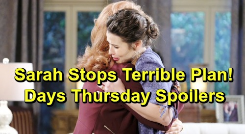 Days of Our Lives Spoilers: Thursday, July 11 – Stefan Faces 'Nicole's' Fierce Attack – Sarah Thwarts Terrible Plan
