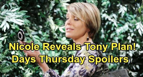 Days of Our Lives Spoilers: Thursday, July 25 – 'Nicole' Stuns Brady with Secret Tony Strategy – Gabi's Wild Idea Rocks Stefan