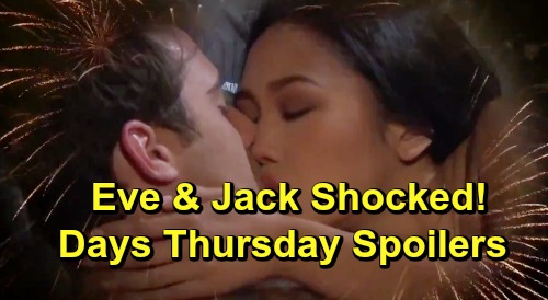 Days of Our Lives Spoilers: Thursday, July 4 – Eric and Rex's Battle – Eli Asks Lani to Marry – Jack and Eve Get Shocking News
