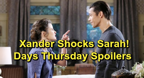 Days of Our Lives Spoilers: Thursday, June 13 – 'Nicole' Dupes Stefan – Xander's News Stuns Sarah – Ted's Doomed Plan