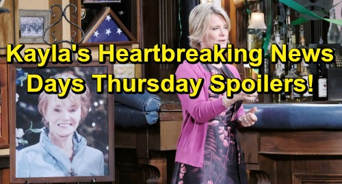 Days of Our Lives Spoilers: Thursday, June 20 – Caroline's Special Sendoff – Kayla Spreads Heartbreaking News
