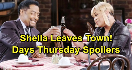 Days of Our Lives Spoilers: Thursday, May 2 – JJ Strikes Back at Jack – Tripp's Discovery Brings Claire's Fury – Sheila Leaves Town