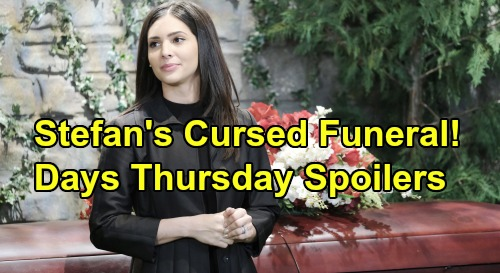 Days of Our Lives Spoilers: Thursday, October 24 – Stefan's Funeral Brings Gabi's Dark Vow – Brady Awakens in Bed with Kristen