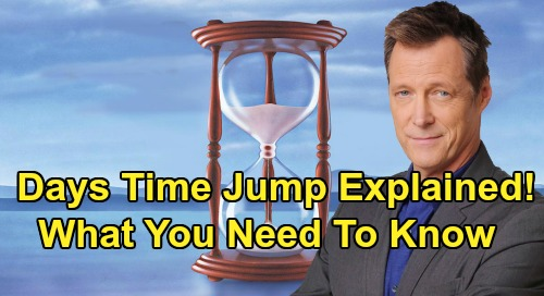 Days of Our Lives Spoilers: Time Jump Explained, What Happens and What to Expect – Jack Flips Hourglass, One-Year Transition