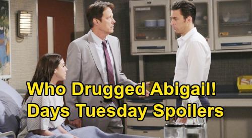 Days of Our Lives: Tuesday, April 28 – Who Drugged Abigail – Rafe's Devastating Custody News – Kayla Blasts Steve