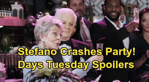 Days of Our Lives Spoilers: Tuesday, December 31 – Steve Crashes New Year's Party – Kristen Makes Trouble – Eli's Big Discovery