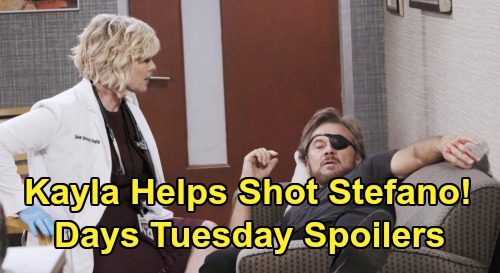 Days of Our Lives Spoilers: Tuesday, February 11 – Chad & Abigail Trapped, Kayla Helps Shot Stefano – Jennifer Recalls Hope Balcony Push