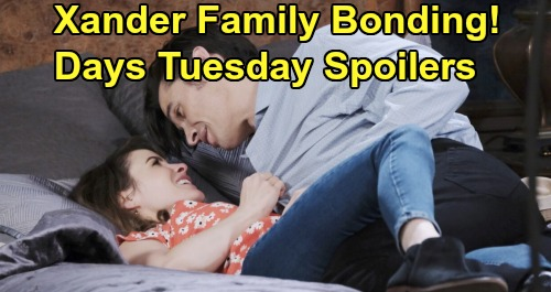 Days of Our Lives Spoilers: Tuesday, February 4 – Sarah & Mickey Family Reunion Thrills Xander – Ciara Blames Herself for Ben's Death Sentence