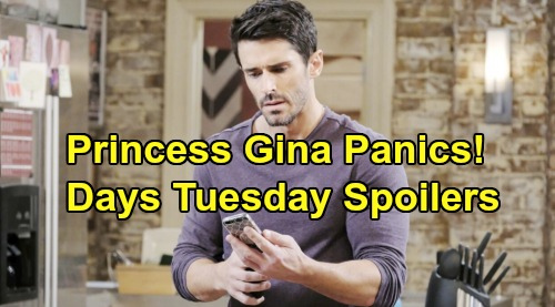 Days of Our Lives Spoilers: Tuesday, January 28 – Stefano and John's Shocking Encounter in Europe – Shawn Panics Princess Gina