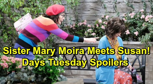 Days of Our Lives Spoilers: Tuesday, July 23 – Kristen Dupes Susan as Sister Mary Moira – Kate's Life-Risking Stefan Deal