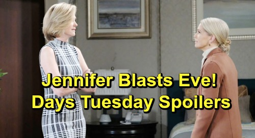 Days of Our Lives Spoilers: Tuesday, June 11 – JJ Rushes to Haley's Side – Gabi's Bittersweet News – Jennifer Blasts Eve