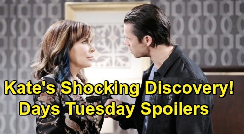Days of Our Lives Spoilers: Tuesday, June 25 – Kate's Shocking Xander Discovery – Sarah and Rex Tie the Knot