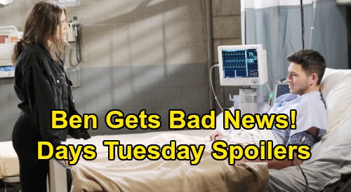 Days of Our Lives Spoilers: Tuesday, March 17 – Clyde's Christian Maddox Connection – Princess Gina Dies, Hope Returns