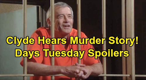 Days of Our Lives Spoilers: Tuesday, November 19 – Clyde Hears Ben's Murder Story – Sarah & Xander Baby Bond - Eve Struggles
