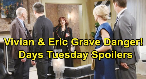 Days of Our Lives Spoilers: Tuesday, September 3 – Danger for Eric & Vivian – Stefan Plots Sneak Attack – Lonely Hope's Letter