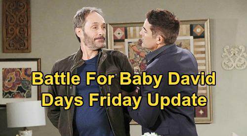 Days of Our Lives Spoilers: Friday, April 17 Update – Steve Let's Kayla Go - Rafe & Orpheus Battle For David – Ben Fights Dark Side