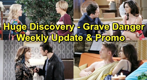 Days of Our Lives Spoilers: Week of June 24 Update – Emotional Reunions, Shocking Admissions and Grave Danger