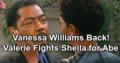 Days of Our Lives Spoilers: Valerie Returns To Salem - Battles Sheila For Abe's Love - Vanessa Williams May Sweeps Air Date