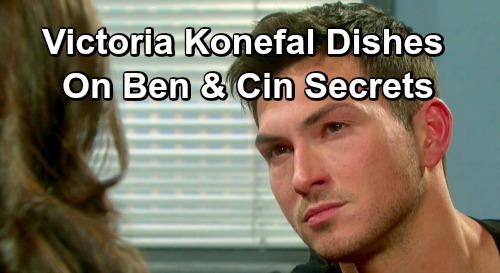 Days of Our Lives Spoilers: Victoria Konefal Shares 'Cin' Secrets – Dishes on Robert Scott Wilson and Complicated Love Story