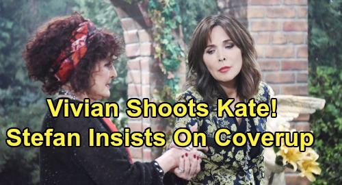 Days of Our Lives Spoilers: Gabi Freaks Over Violent Vivian, Wants to Call Cops on Kate's Shooter – Angry Stefan Demands Cover-Up