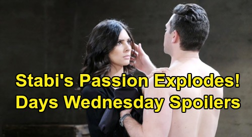 Days of Our Lives Spoilers: Wednesday, August 21 – Gabi & Stefan Surrender to Passion – Susan Returns – Roman's Engagement Ring