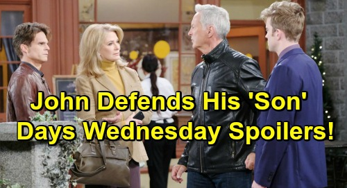 Days of Our Lives Spoilers: Wednesday, February 27 – Rex Shocking Proposal – Sarah Hot Eric Dream – John's Move Sparks Suspicions