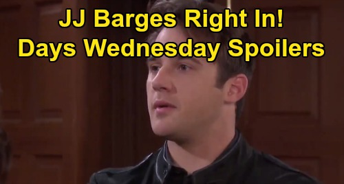 Days of Our Lives Spoilers: Wednesday, January 15 – JJ's Sneaky Pacemaker Mission – Abe Grills Lani – Kayla's Risky Advice