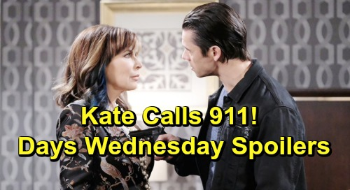 Days of Our Lives Spoilers: Wednesday, June 26 – Jack and Will's Surprising Deal – Xander Kidnaps Kate After Frantic 911 Call