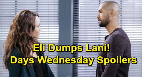 Days of Our Lives Spoilers: Wednesday, June 5 – Claire Tries to Burn Tripp and Haley Alive – Sami Learns Will's Dying – Lani Dumped