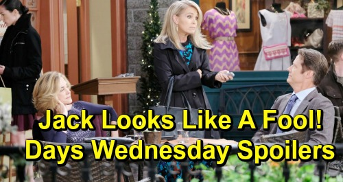 Days of Our Lives Spoilers: Wednesday, March 20 – Tyler Christopher Ends Stefan Run – Jennifer Makes Jack Look a Fool