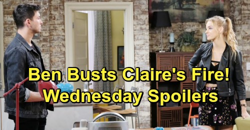 Days of Our Lives Spoilers: Wednesday, May 22 – Eve's Demonic Mission – Lani Comes Clean – Claire Busted By Ben