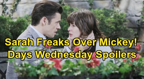 Days of Our Lives Spoilers: Wednesday, November 20 – Sarah Desperate to Find Mickey – Ben Freaks Over Clyde's Baby Kidnapping Plot