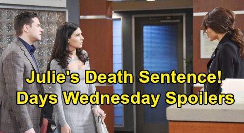 Days of Our Lives Spoilers: Wednesday, September 4 – Ben Saves Eric from a Bullet – Kayla Gives Julie A Death Sentence
