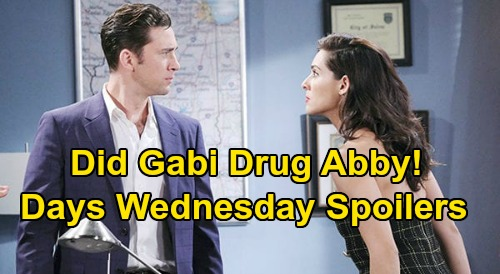 Days of Our Lives Spoilers: Wednesday, April 29 – Steve & Kayla Spark - Chad Insists Gabi Drugged Abby – John Walks Into Orpheus Trap