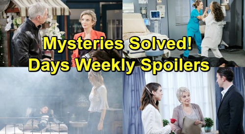 Days of Our Lives Spoilers: Week of February 18 – Dangerous Battles, Shocking Ammunition and Tough Goodbyes
