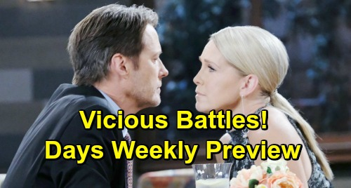 Days of Our Lives Spoilers: Week of January 14 – Stunning Confessions, Deadly Threats and Vicious Battles