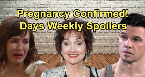 Days of Our Lives Spoilers: Week of September 2 – Sarah's Pregnancy Confirmed – Xander's Fatal Mission – Vivian's Return Chaos
