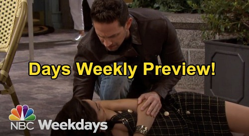 Days of Our Lives Spoilers: Week of April 27 Preview - Gabi Faints After Seeing Jake - Wakes Up In Stefan DiMera's Arms
