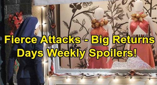 Days of Our Lives Spoilers: Week of December 30 – Steve's New Year's Eve Bomb – Gabi's Vandalism Shocker – Kate's Fierce Threat